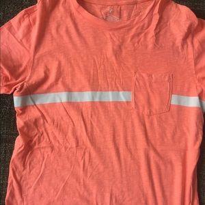Bright orange T-shirt